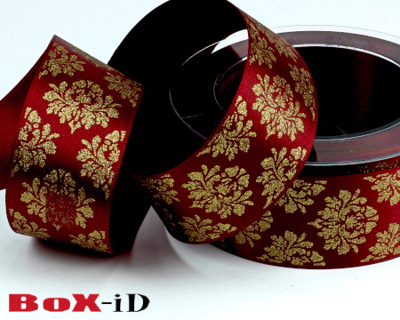 X-mas Deluxe rood  40mm x 15m